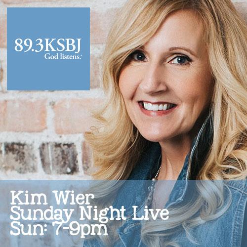 Radio Interview with 89.3 KSBJ – Kim Wier